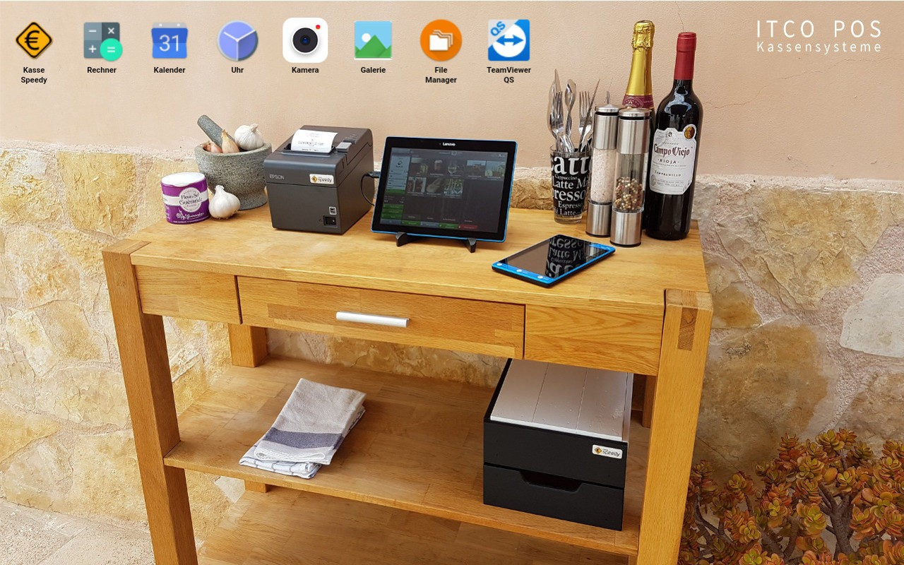 ITCO POS Kassensystem Sicherheitssystem, Desktop
